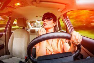 distraction-conduisant