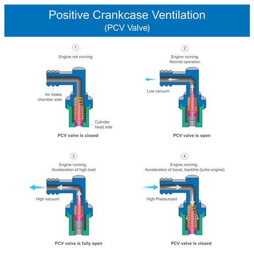 Positive Crankcase Ventilation Valve