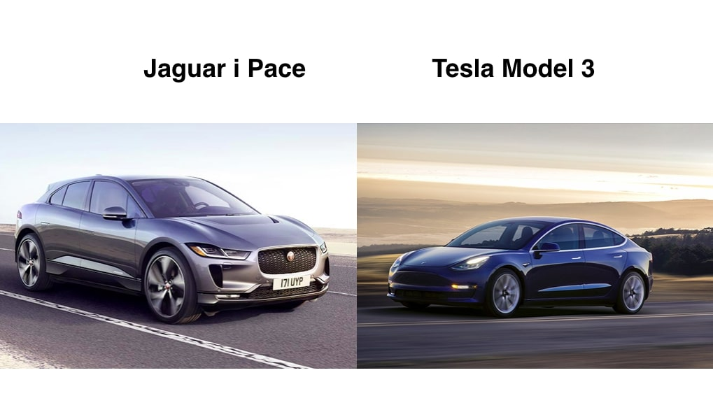 jaguar-ipace-tesla-model3